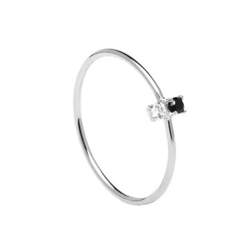 ANILLO PDPAOLA CARBON SILVER