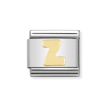 LINK NOMINATION LETRA Z ORO
