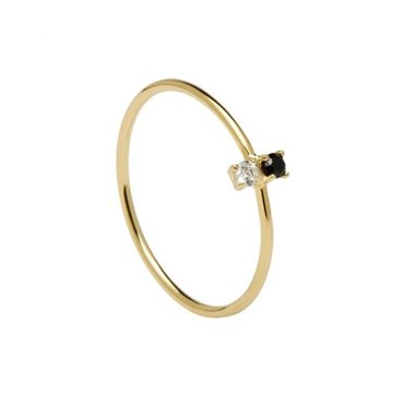 ANILLO PDPAOLA CARBON GOLD