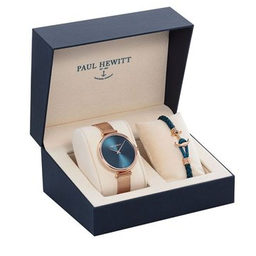 SET PAUL HEWITT RELOJ ROSE + PULSERA
